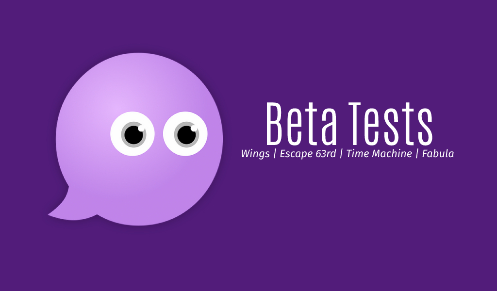 Beta Testers wanted!